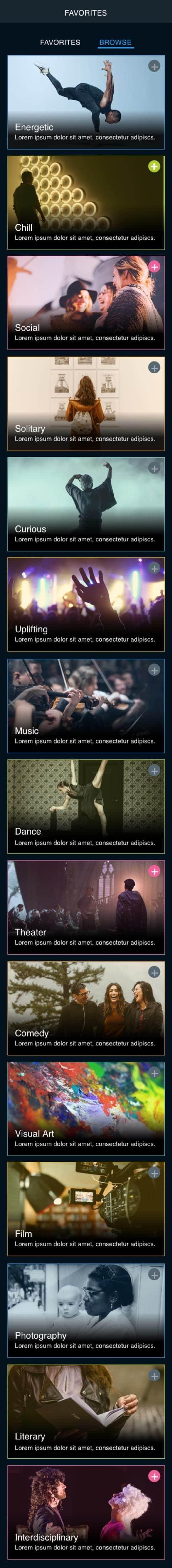 Arts Everywhere Phone Background