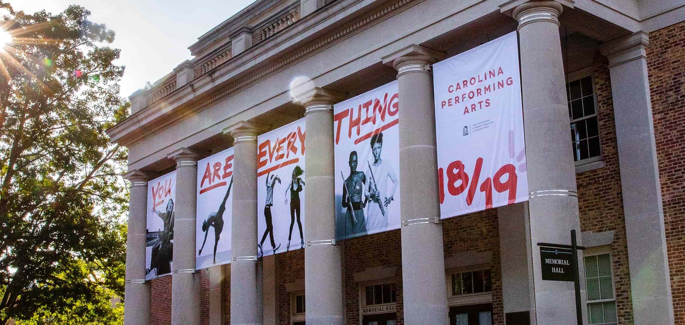 Carolina Performing Arts Building