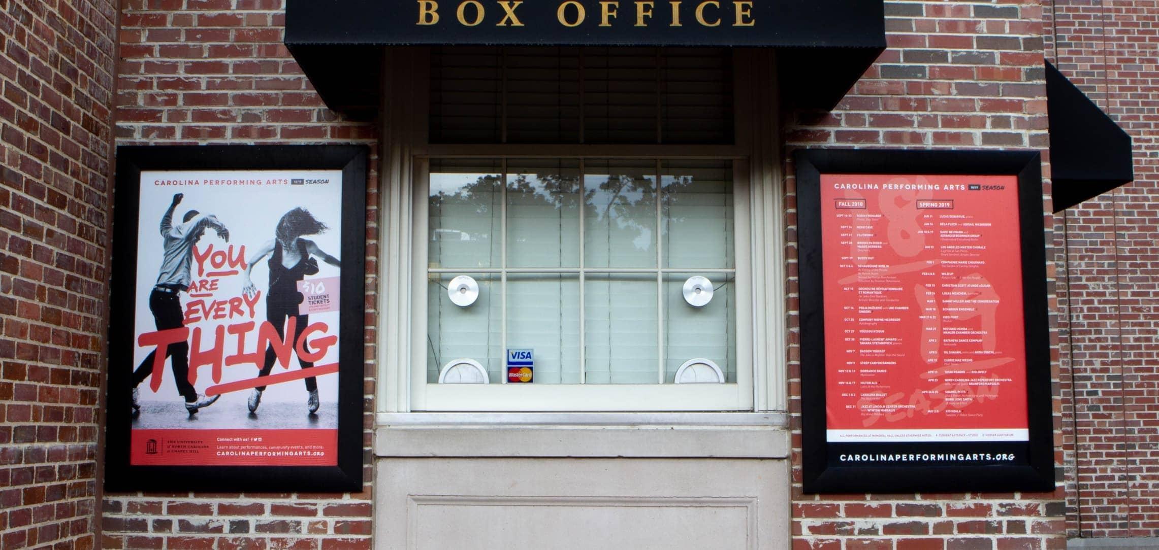 Carolina Performing Arts Box Office