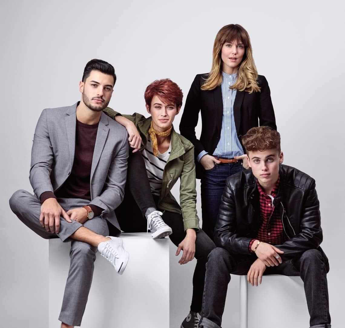Fantastic Sams photo shoot image
