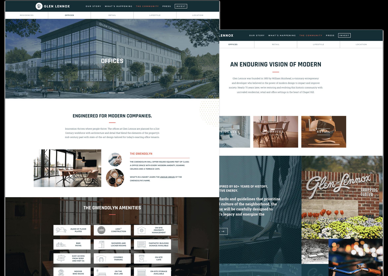 Glen Lennox Office Page