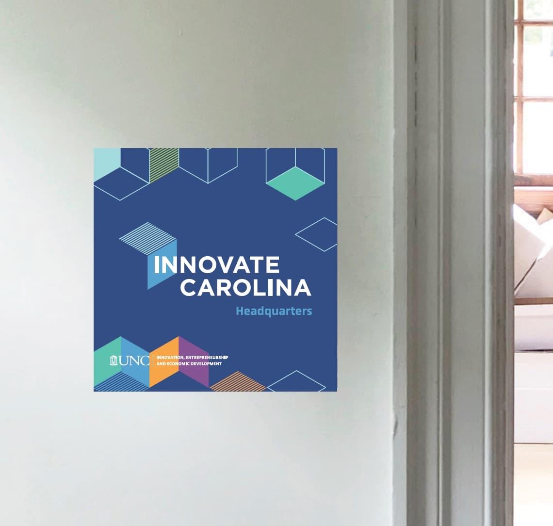 Innovate Carolina building sign
