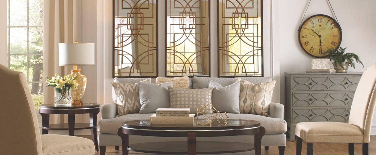 An elegant living room website hero image