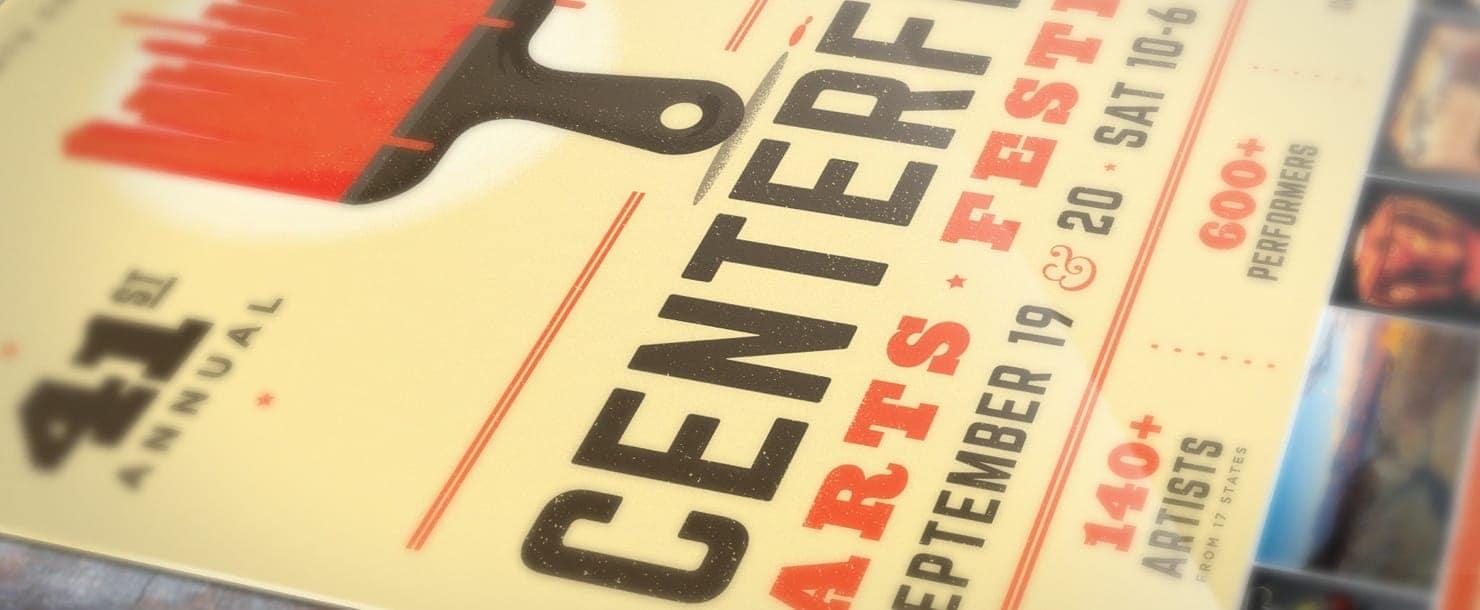 CenterFest website banner image