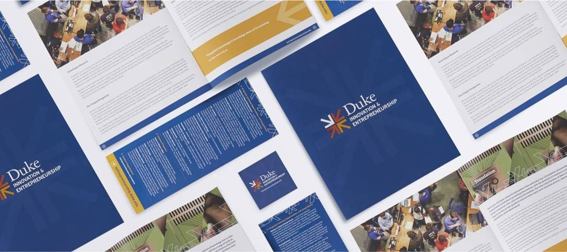 Duke Innovation and Entrepreneurship logo examples