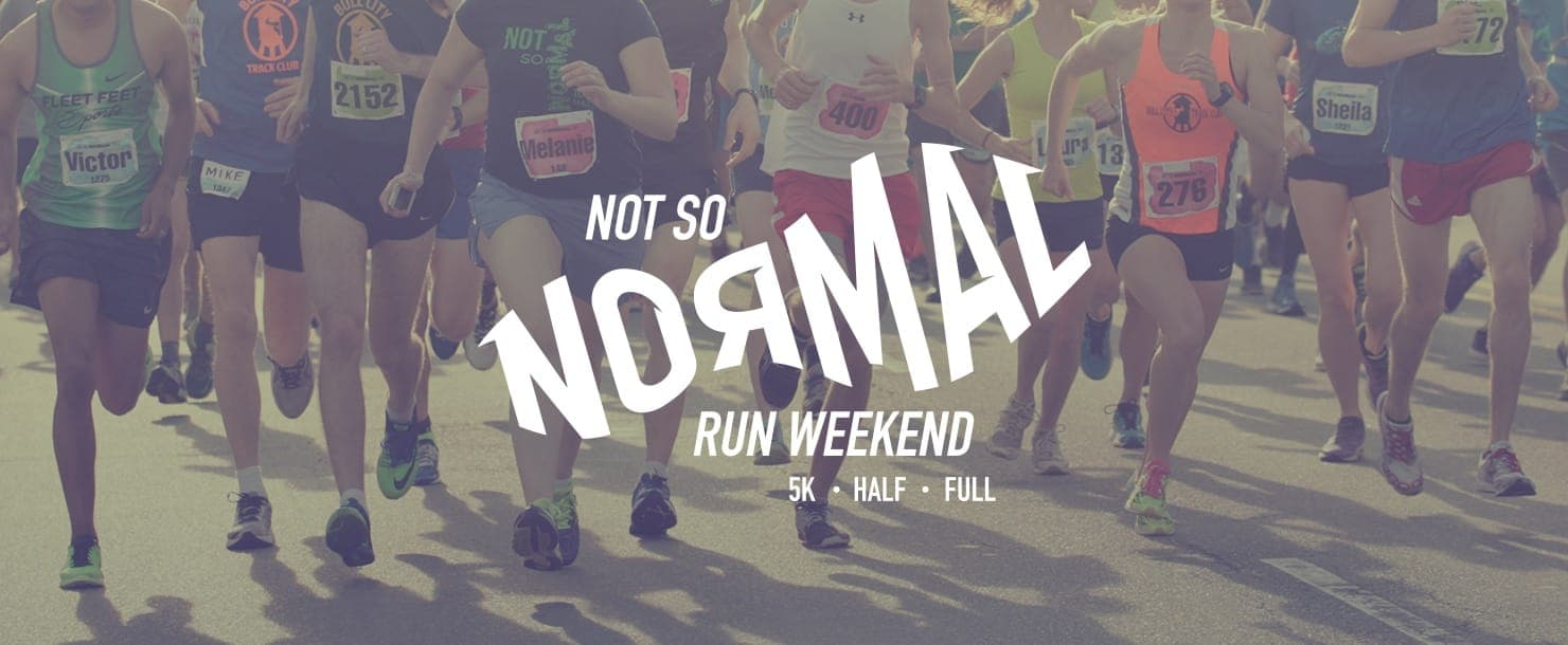 The Not So Normal Run banner image
