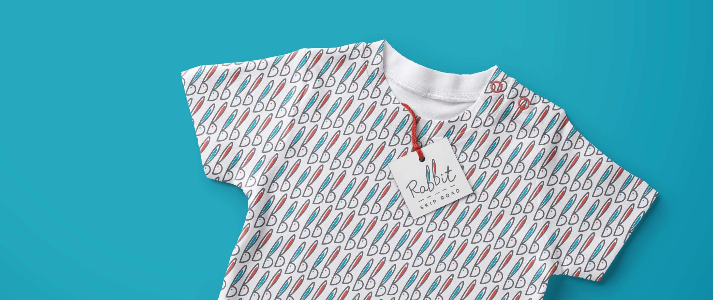 Rabbit Skip Road baby t-shirt
