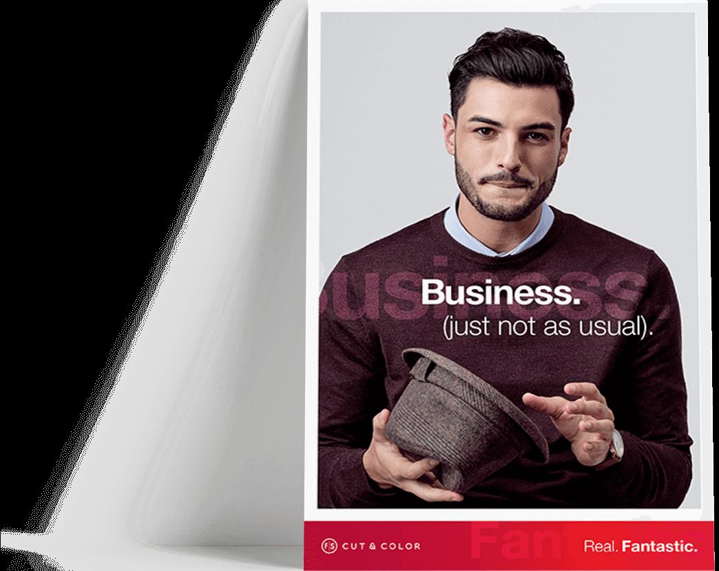 Fantastic Sams Business Poster