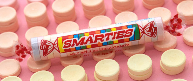 Smarties candy hero