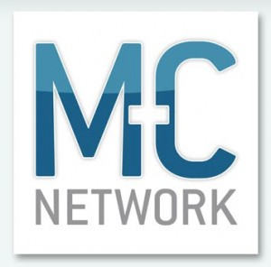 MC Network logo by Rivers Agency