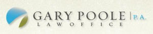Gary Pool Law Office logo by Rivers Agency