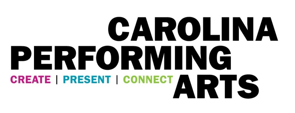 carolina performing arts logo designed by river's agency