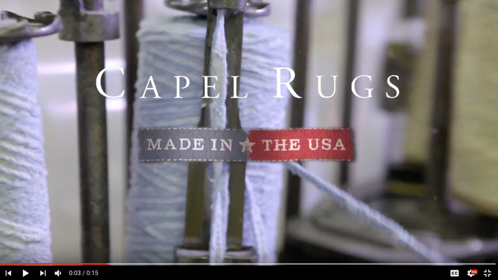 Capel Rugs - Rivers Agency Video Production
