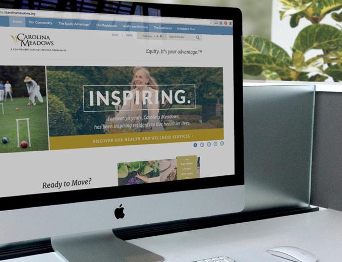 carolina meadows website display on mac