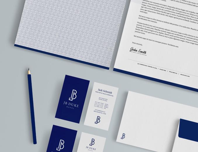 JB Duke Business Cards