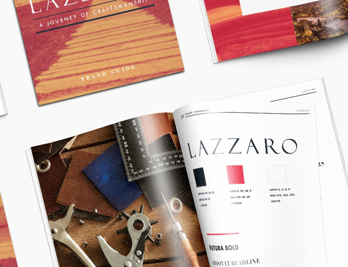 page of lazzaro magazine