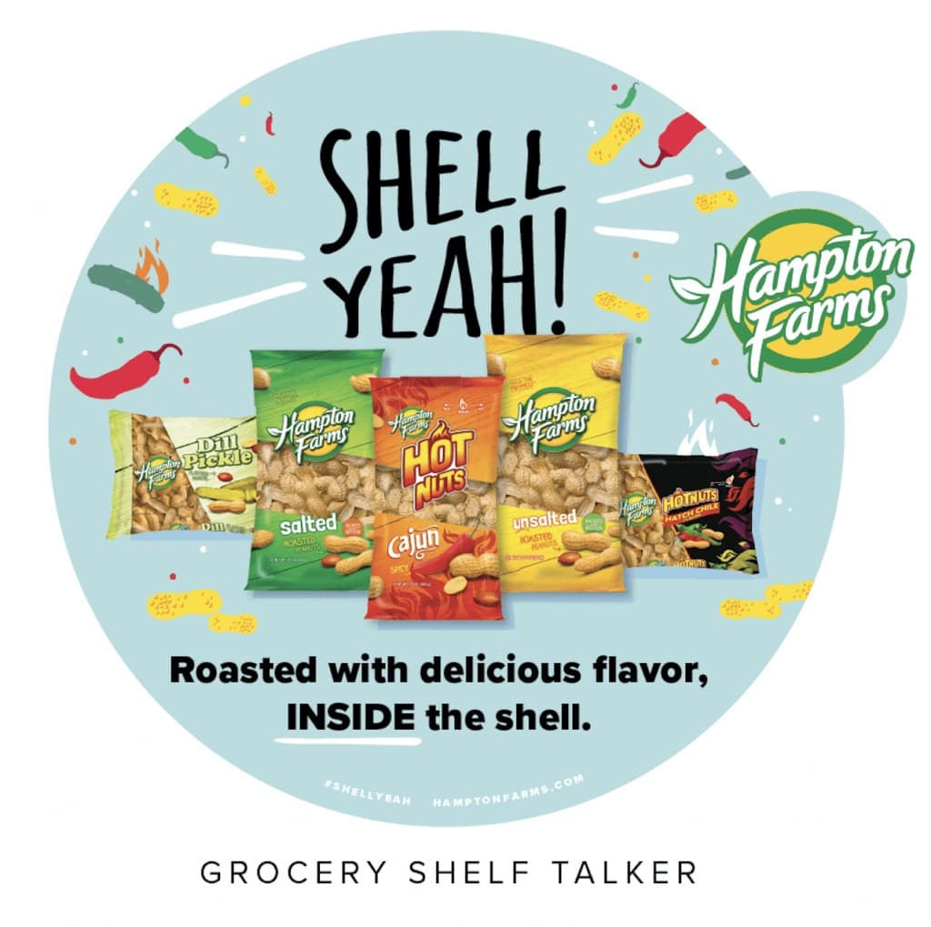 Hampton Farms Shell Yeah! campaign